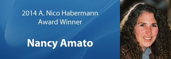 2014 A. Nico Habermann Award Winner Nancy Amato