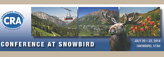 The biennial CRA Conference at Snowbird is the flagship invitation-only conference for the leadership of the North American computing research community. View the details of the upcoming conference.