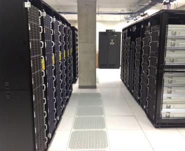 Figure 4: The JHU-based Data-Scope, with its 10PB of storage and 0.5Tbytes/sec I/O performance.