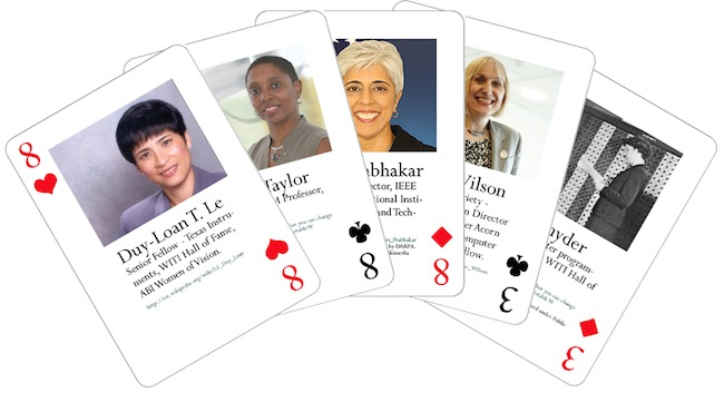 Notable Women in Computing Playing Cards – a Full House